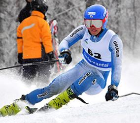 大回転、成年男子A宮本が初出場V 岩手県民体スキー