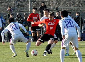 J2京都、若手が存在感 新チーム初の練習試合