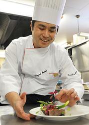 J2山形、郷土のチーム「食」で応援 ホテルシェフ・本間さん