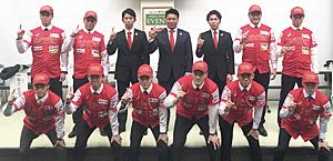 新天地で決意 野球BCリーグ福島が入団会見