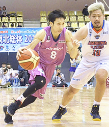 福島、ホームで広島に連敗 バスケBリーグ2部