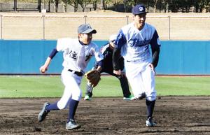 ソフトバンク武田投手の速球感激 6中学選手が対戦