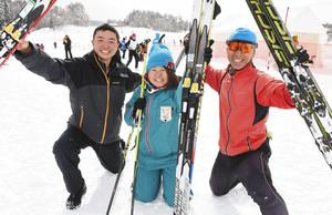 スキー 富山県勢、初日総合2位 中部日本大会