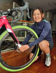 自転車 今井美穂、初の国際舞台 シクロクロス世界選手権