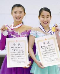 フィギュアスケート 17歳三原、16歳坂本の神戸コンビ