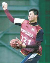 楽天 躍動若ワシ 木村敏靖投手 高い身体能力生かす