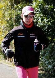 大阪国際女子マラソン 8度目の小崎まり、気負いなし
