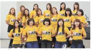 J1仙台 チアリーダーズ15期生誕生