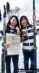 弘果SRC女子3連覇 全日本スキー距離団体