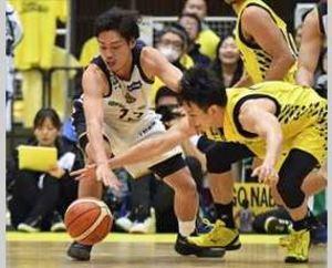 栃木、薄氷の逆転勝利 バスケB1