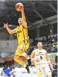 群馬ホーム戦で接戦制す、香川に3点差勝利 バスケB2