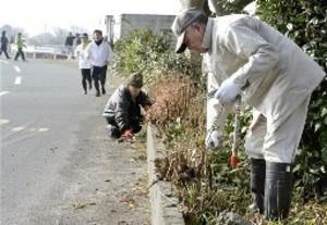 風景も楽しんで、住民らコース清掃 熊本城マラソン