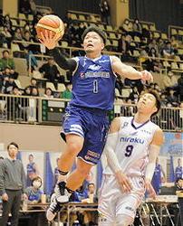 島根、福島下し7連勝 バスケBリーグ2部