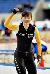 スピード成女500m、郷(愛媛)連覇 冬季国体スケート