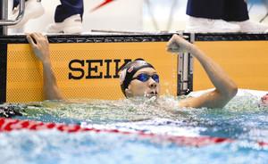 19歳渡辺、東京五輪へ希望の世界新 競泳・男子200平