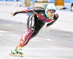 スケート・成男500、古川が8位入賞 ながの冬季国体
