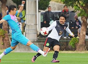 J1浦和、鳥栖と練習試合 興梠が得点、1次合宿打ち上げ