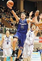 島根、奮闘8連勝 バスケBリーグ2部