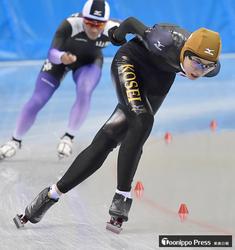 村崎(光星)が1万メートル6位 スケート国体