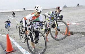 「シクロクロス」に140人力走 自転車のクロスカントリー