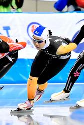 冬季国体Sスケート成年女子3000 池田(愛媛)、気力の5位