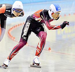 スケート・少年女子3000で秋山が6位入賞 ながの銀嶺国体