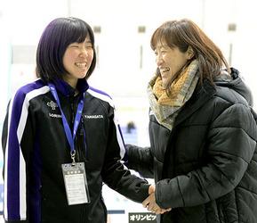 国体 スケート 念願の優勝、鈴木杏菜の母「夢みたい」