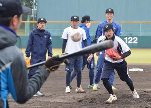 滋賀ユナイテッド全体練習 BCリーグ開幕ダッシュへ汗