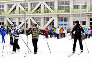 スキー 郡上市からクロカン選手を 元五輪選手の挑戦
