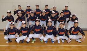 小学生野球 青森県選抜チーム 全日本選抜に向け練習