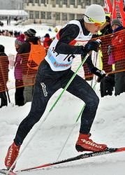 男子5キロクラシカル、大堰徳17位 全中スキー