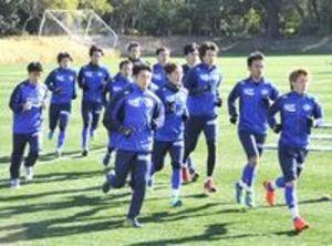 J2徳島・宮崎キャンプ 4日J1甲府と練習試合