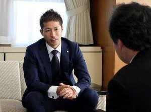 森崎浩司氏、J1広島PRに意欲
