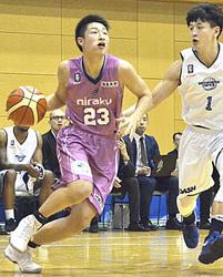 福島南高・水野が11得点 バスケBリーグ鮮烈デビュー