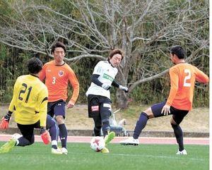 J1仙台、守備改善 3-4-3に手応え