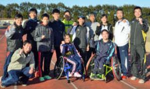 パラ駅伝・群馬チームが初練習で始動 都内で3月に大会
