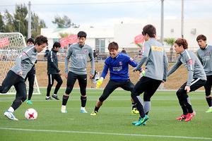 J1浦和・武藤、決定力の高さ見せる 5日、札幌と練習試合