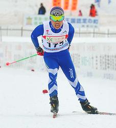 後半猛然、藤田(真室川)4位 全国中学スキー