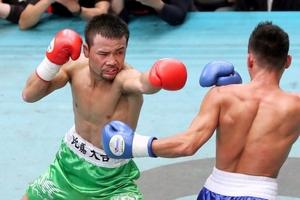 ボクシング比嘉大吾、世界前哨戦をKO勝ち