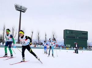 大会初、野球場が発着点 米沢・全国中学校スキーの複合距離
