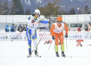 男女リレーが入賞 全中スキー