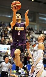 バスケB2山形、4連勝逃す 熊本に敗れる