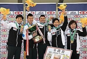 長野勢が男女V カーリング日本選手権