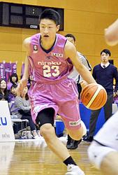 福島連敗脱出、若武者・水野が再び衝撃 バスケBリーグ