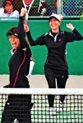 「ようやく優勝できた」 ソフトテニス我那覇佳乃・比嘉慶望組