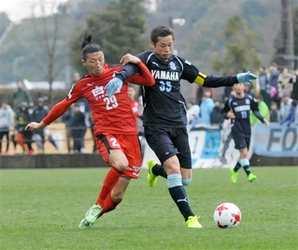 J2熊本、J1磐田に1-1 ニューイヤーカップ