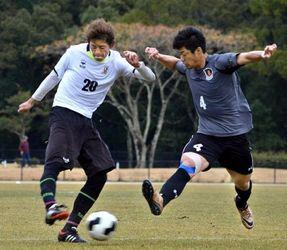 高知ユナイテッド、練習試合でチーム力を確認