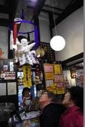 大相撲 新横綱をかわいらしく 稀勢の里のつるし飾り 群馬県の榛東