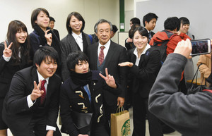 体操 加藤沢男さんが白鴎大で最終講義