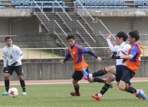 J1新潟 高知ユナイテッド戦、終盤に2得点